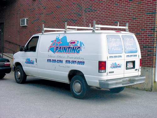 Vehicle Graphics for client by Lake Graphics