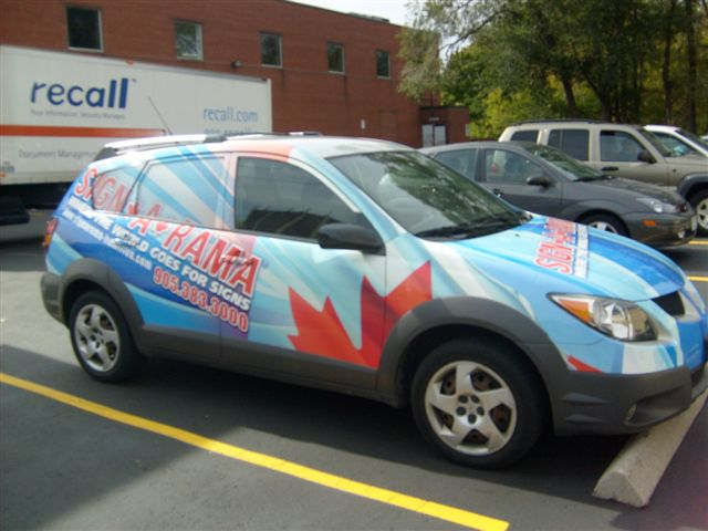Vehicle wraps attract new customers to your Maine or New Hampshire business