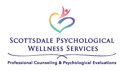 Logo design for wellness center in arizona by lake graphics
