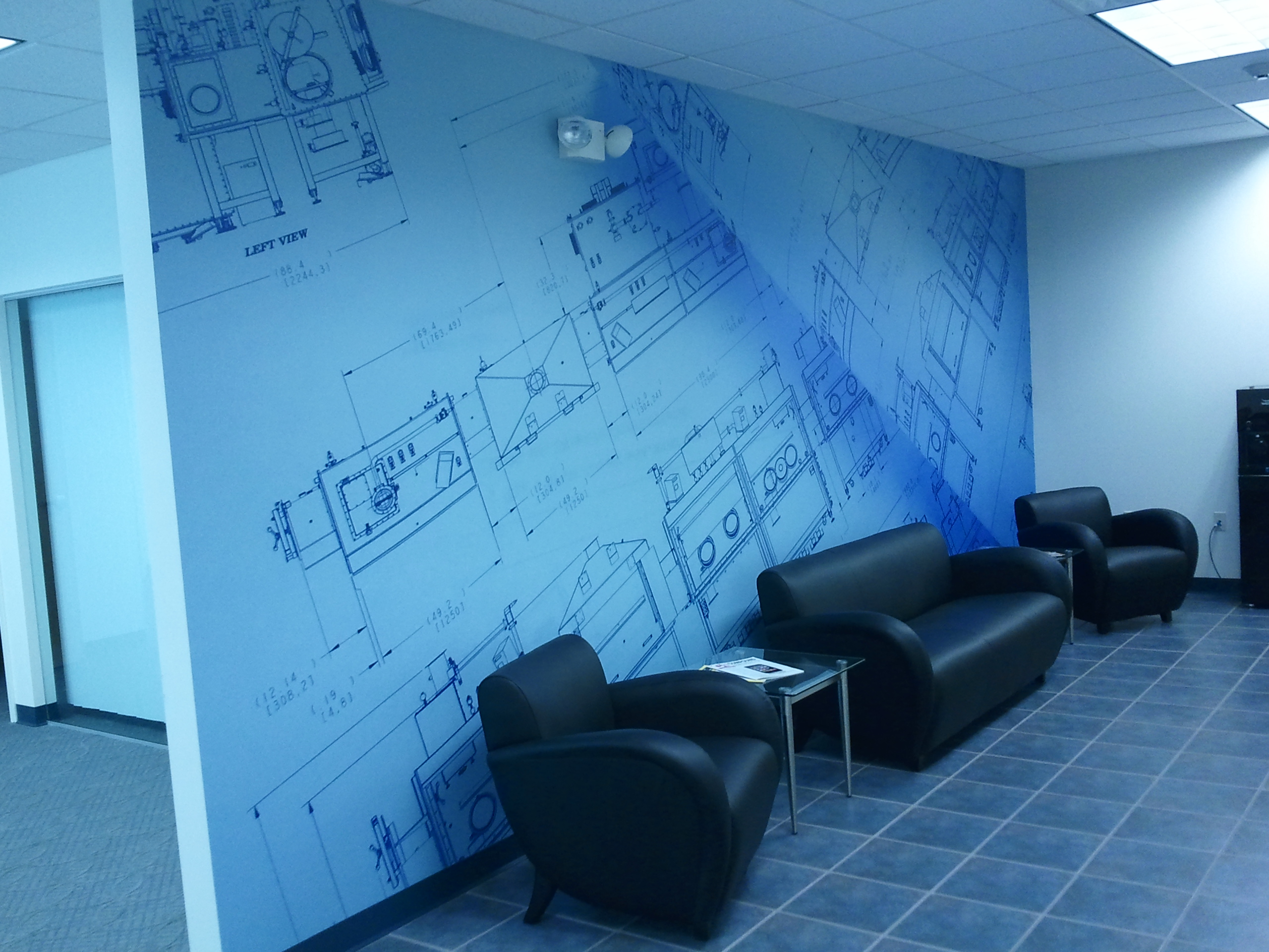 Wall graphics design