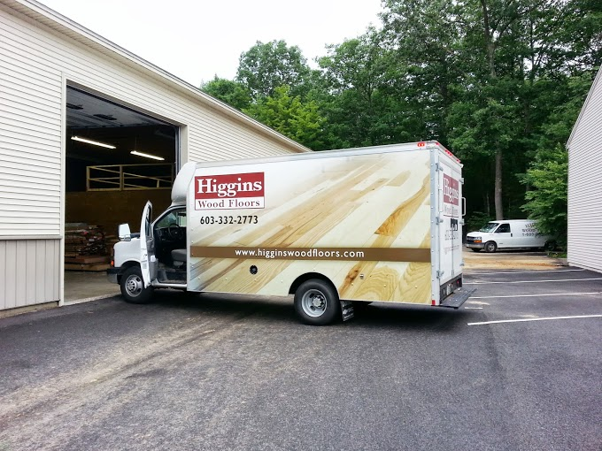 vehicle graphics for your box truck in Rochester NH by Lake Graphics