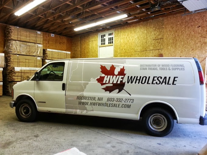 Van graphics for your rochester NH business by Lake Graphics